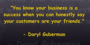 Daryl Guberman inspirational message