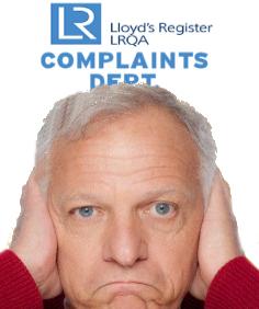 LRQA Blacklists Oxebridge Emails, Complaint Now In Hands of UKAS
