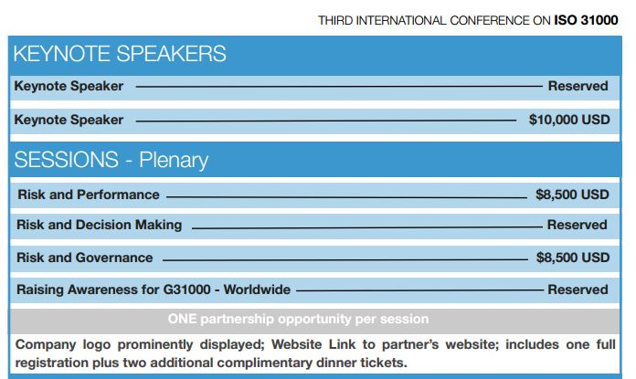 G31000 Charges Keynote Speakers $10,000, Instead of Paying