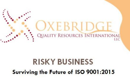Oxebridge Presentation on ISO 9001:2015 — Quick Takeaway from Audience Responses
