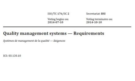 Want to See Oxebridge's Comments on the DIS of ISO 9001:2015?