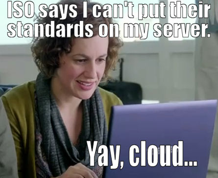 Yay, Cloud: How Every ISO Customer Ever is Violating Their Copyright Policy