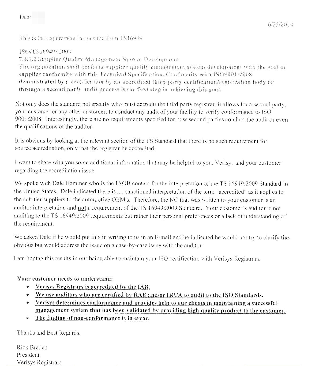 Best As9100 Compliance Auditor Cover Letter Pictures Triamterene Verisys  As9100 Compliance Auditor Cover Letterhtml