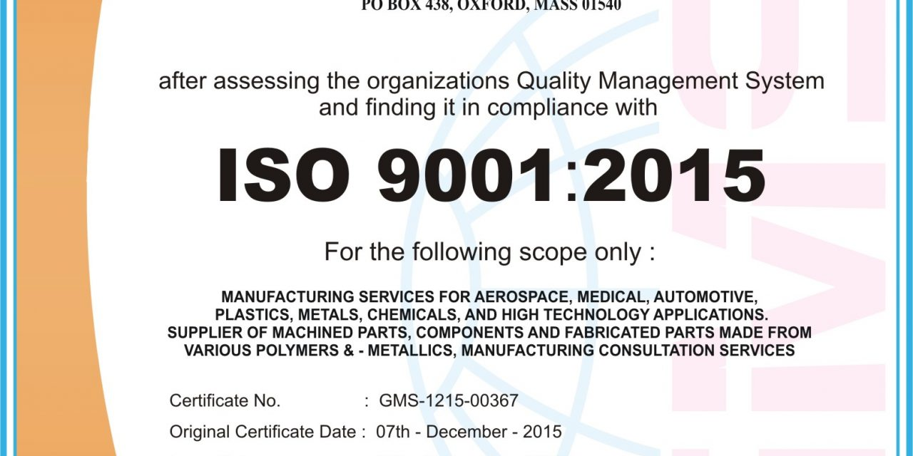 Certificate Mill Operator Bought ISO 9001 Certificate from Another Certificate Mill Operator