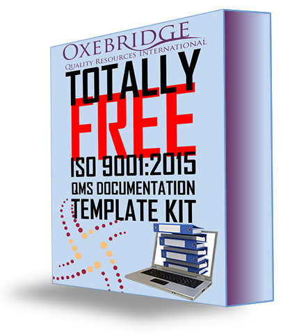 Free ISO 9001 Template Kit Updated to v. 1.9: Includes New Training Presentation