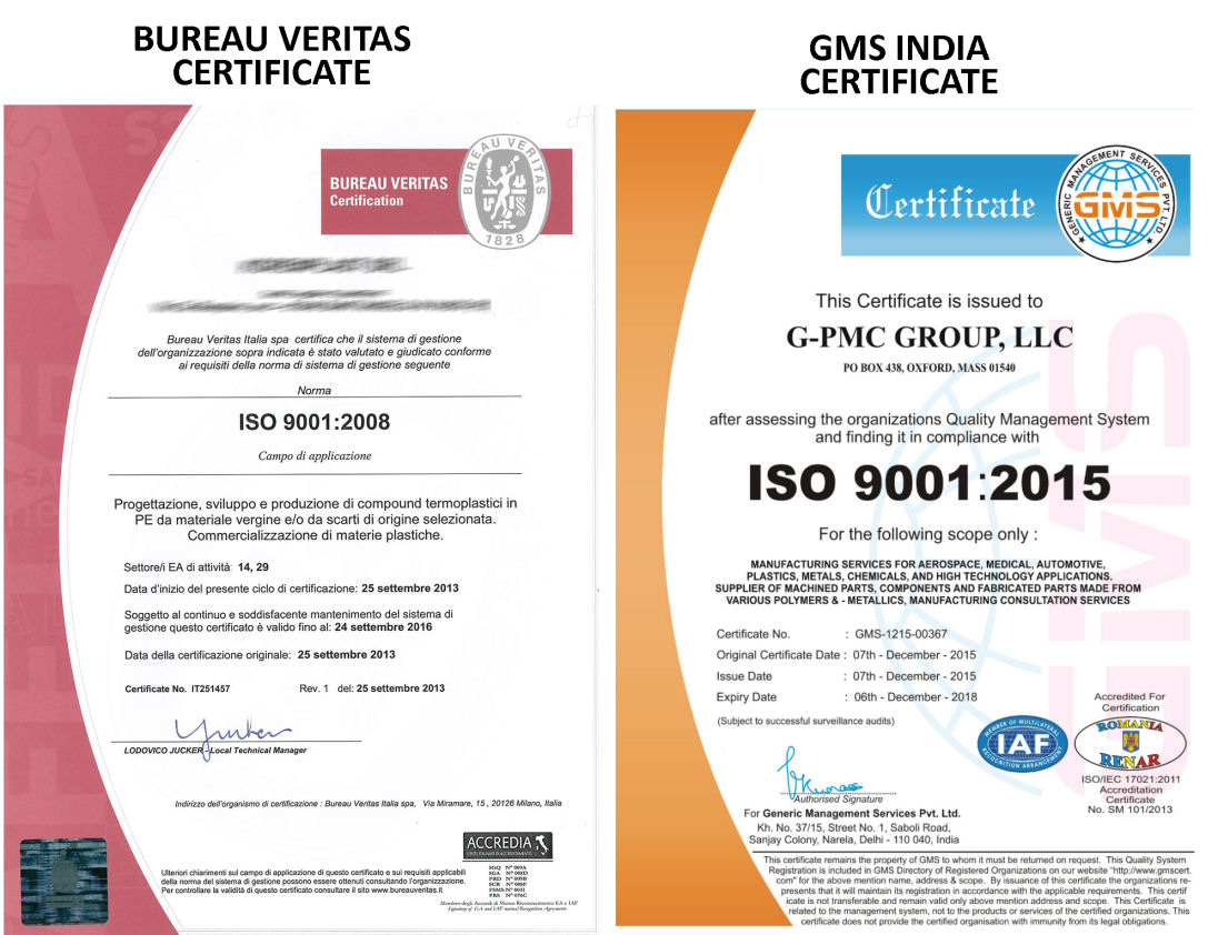 Certificate Mill Operator Bought Iso 9001 Certificate From