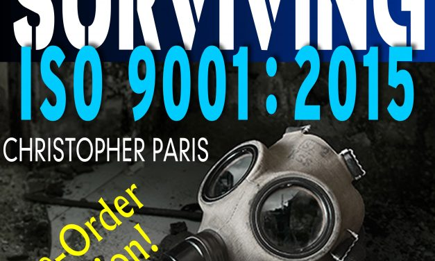 Chris Paris Sells Over 100 Copies of an ISO 9001 Book He Hasn't Even Written Yet