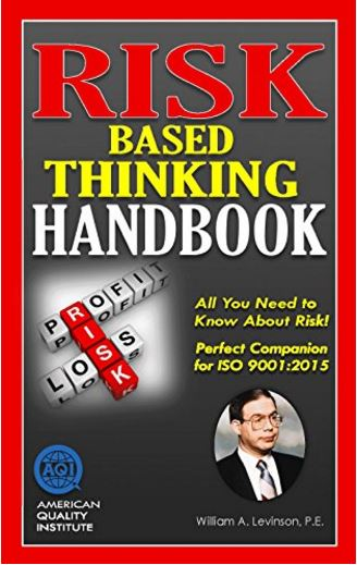 "Book Review: ""Risk Based Thinking Handbook"""
