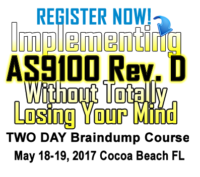 AS9100 Implementation Seminar
