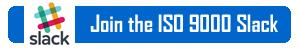 Join ISO 9000 Slack