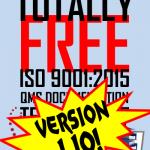 Oxebridge ISO 9001 Template Kit Version 1.10 Released!