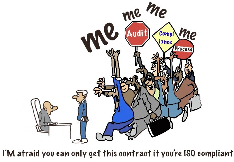 Cartoonist Goes Nuclear on ISO 9001