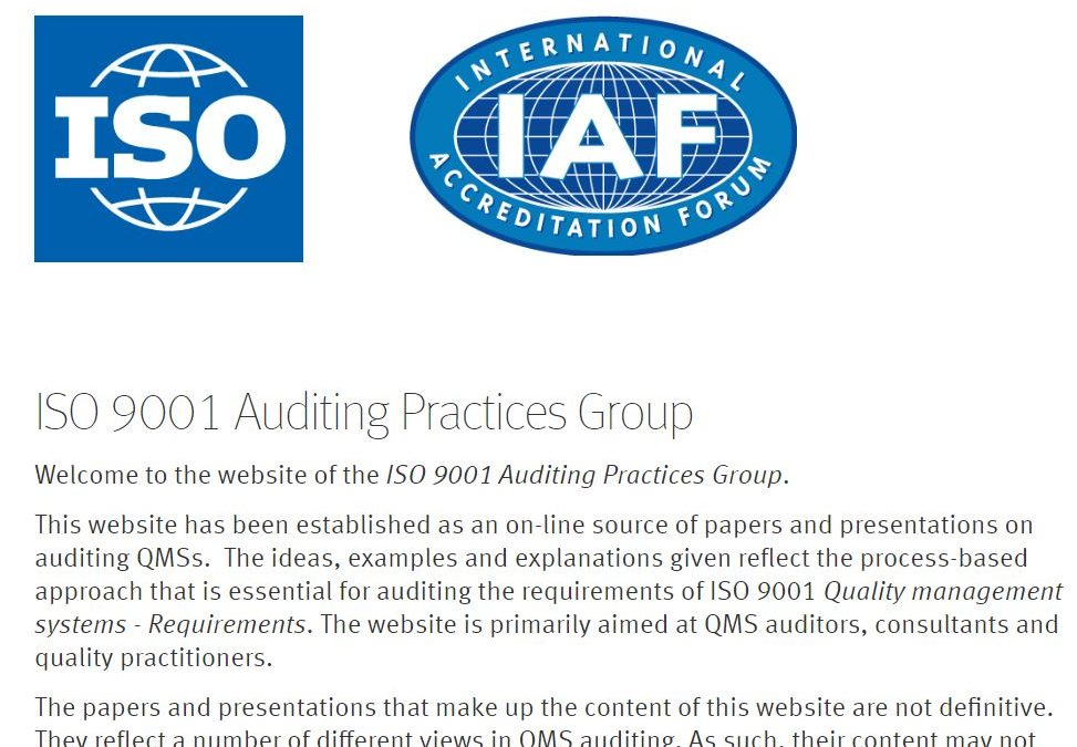 Incoming TC 176 Chair: CBs Unaware of Auditing Guidelines