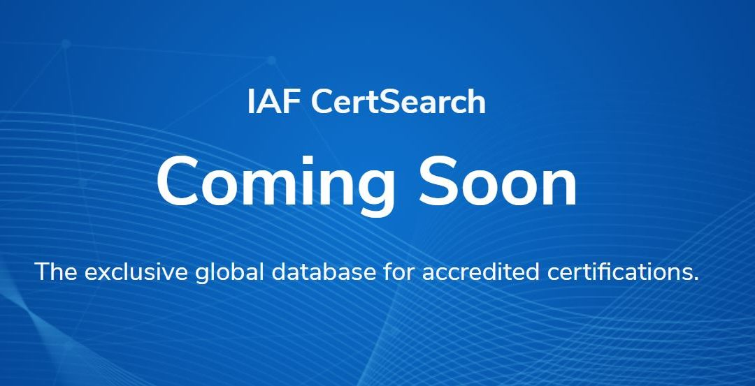 IAF CertSearch Website Down Already, But You Saw That Coming