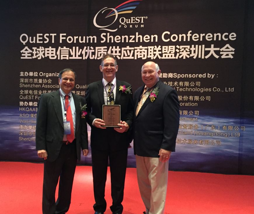 ASQ, QuEST Forum Assisted in Knowledge Transfer to Huawei