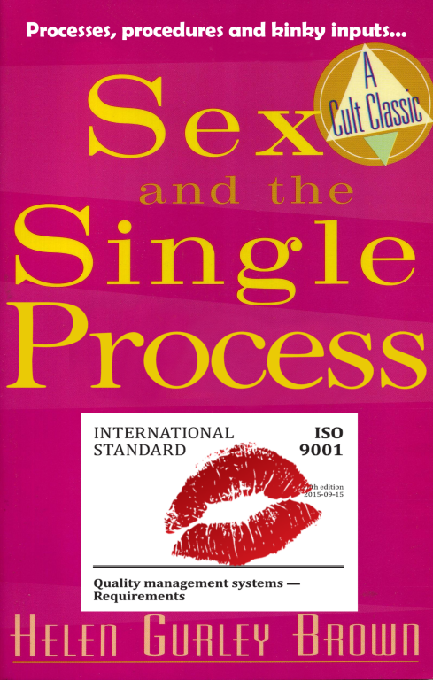 Sex and the Single Process parody book cover