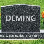 """ISO Standards Author: """"So What?"""" if ISO 9001 Violates Deming's 14 Points"""