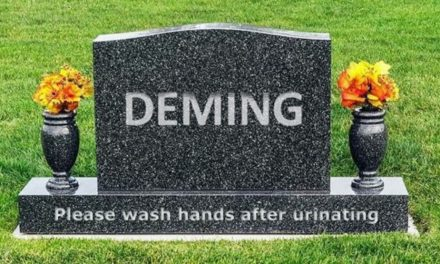 """ISO Annex L Author: """"So What?"""" if ISO 9001 Violates Deming's 14 Points"""
