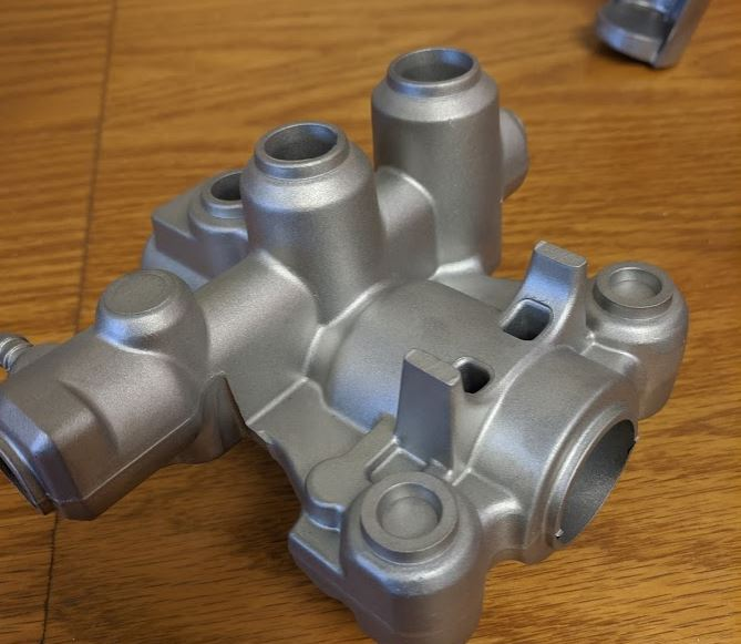 forged metal part