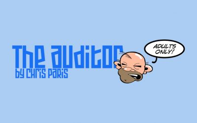 """Oxebridge Launches """"The Auditor"""" Comic Strip"""
