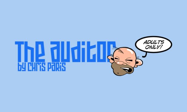 "Oxebridge Launches ""The Auditor"" Comic Strip"