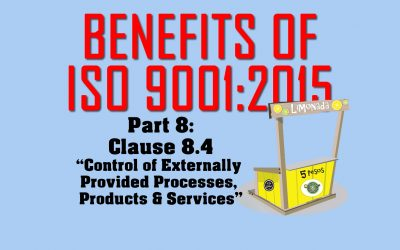 Benefits of ISO 9001, Part 8: Clause 8.4 on Purchasing