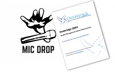 Oxebridge Just Fixed ISO 9001 …. You're Welcome