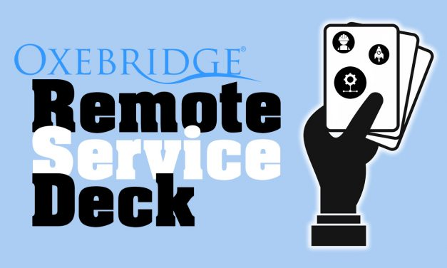 "Oxebridge Launches New ""Remote Service Deck,"" Adds ISO 14001, ISO 45001"