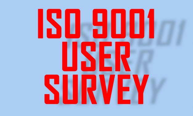 "ISO Releases User Survey for Next Edition of ISO 9001, Considering Adding ""Climate Change"""
