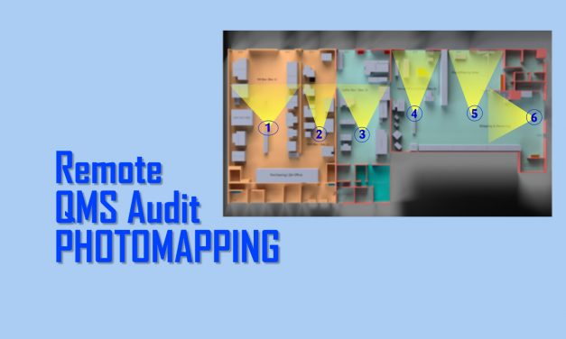 """Photomapping"" As Part of Virtual QMS Audits"