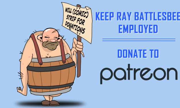 Oxebridge Launches Patreon Page to Support THE AUDITOR Comic Strip
