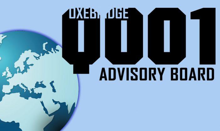 Oxebridge Asks for Volunteers for Q001 Interim Advisory Board