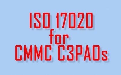 Oxebridge Providing ISO 17020 Implementation for CMMC C3PAOs