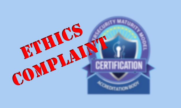From Bad to Worse: CMMC Accreditation Body Ignores Deadline on Ethics Complaint