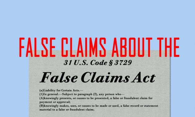 """DoD Threats of False Claims Act Prosecutions in CMMC Scheme Are """"Exaggerated"""""""