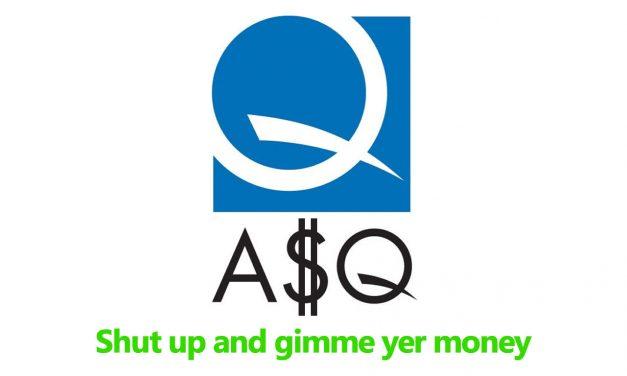 2019 Tax Returns Show ASQ Lost Money, But Increased Exec Bonuses
