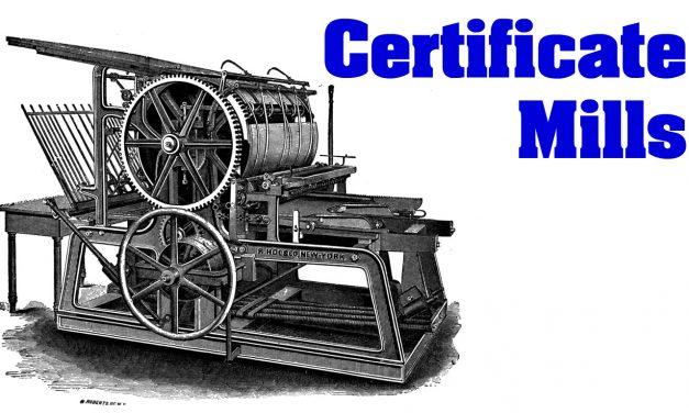 Indian Certificate Mill Opastaja QC Mimics SGS ISO 9001 Certificates, Issues Fake FDA Certs