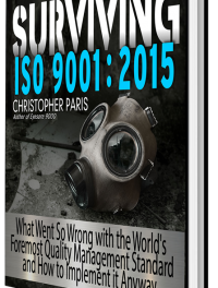 "Last Chance to Get ""Surviving ISO 9001"" Before Amazon Price Increase"
